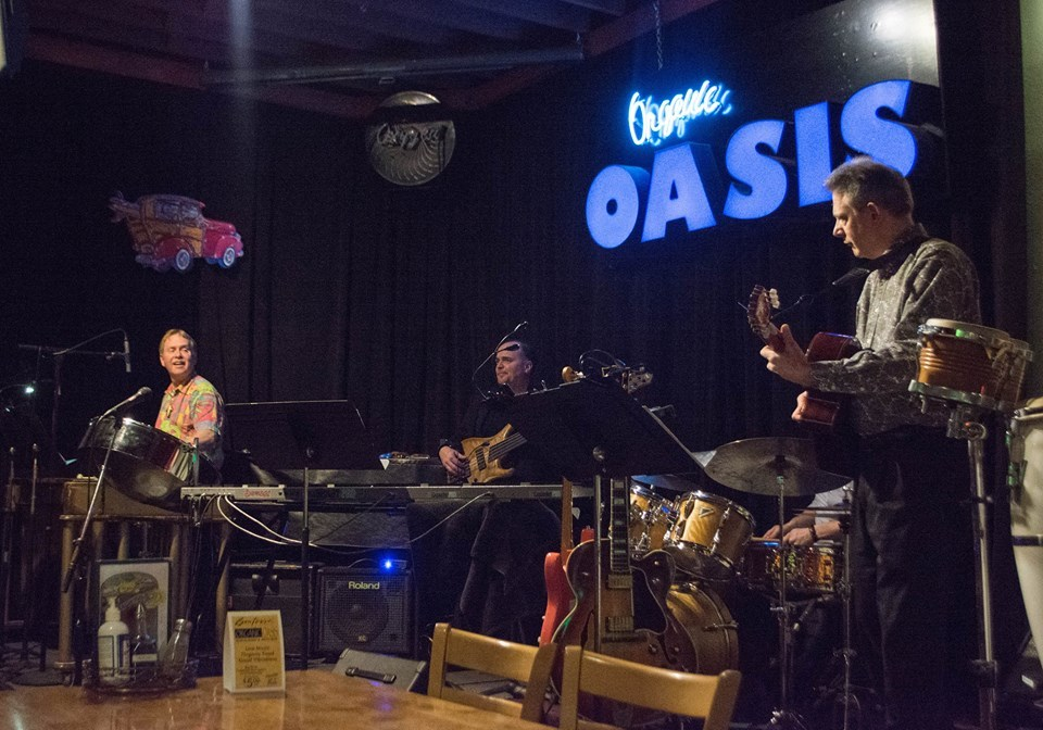 John Damberg Latin Jazz Quintet-November 2, 2014 Concert at the Organic Oasis Restaurant, Anchorage, AK